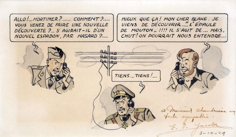 Pleins feux sur Edgar Pierre JACOBS et Blake et Mortimer (2ème partie en cours) - Page 18 Jacobs16