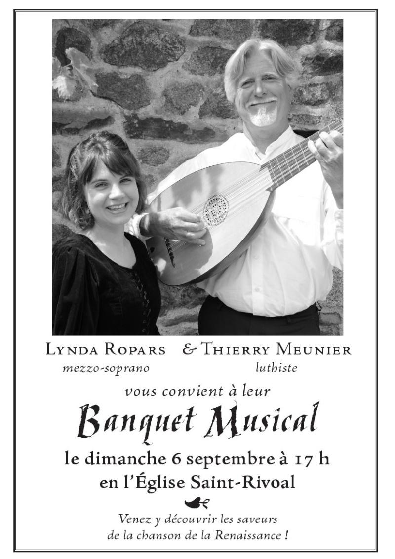 Concert à Saint Rivoal le 6 septembre à 17h Musica10