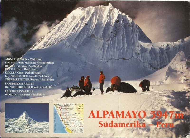 Expeditionspost / Alpinismus Alpama10