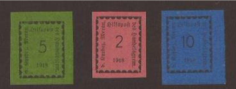 Hilfspostwertzeichen(Italien-Tirol) Hilfsa10