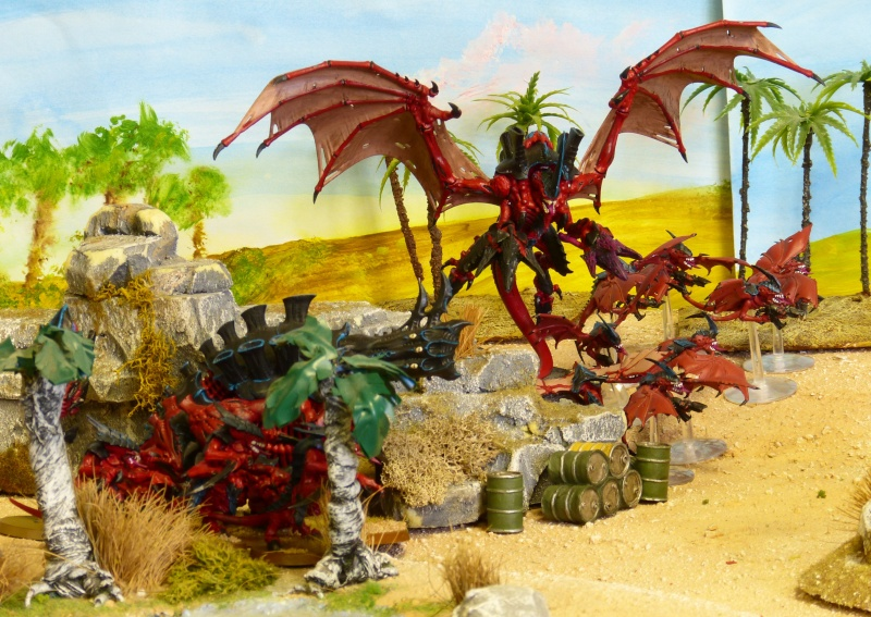 Warhammer 40K. Galerie de Batailles ! - Page 4 P1080810