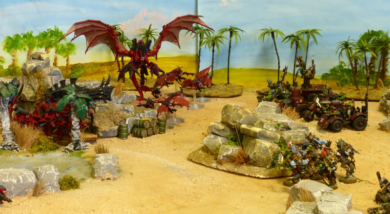 Warhammer 40K. Galerie de Batailles ! - Page 4 P1080811