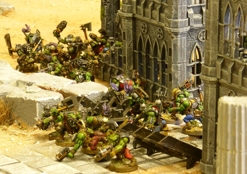 Warhammer 40K. Galerie de Batailles ! - Page 4 P1080812