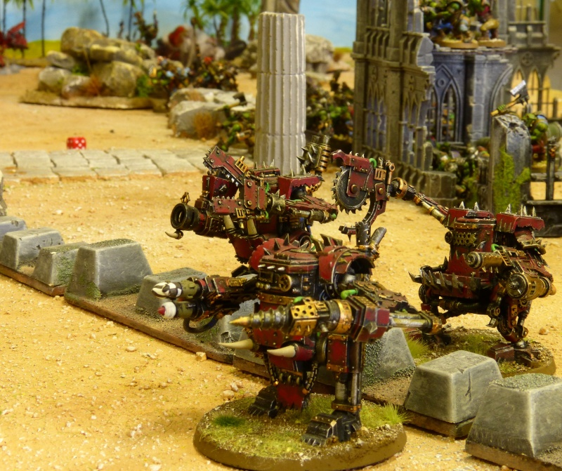 Warhammer 40K. Galerie de Batailles ! - Page 4 P1080813