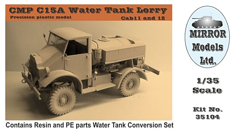 Le CMP C15A Water tank Lorry de chez Miror models. Hamilton New Zealand 3510410