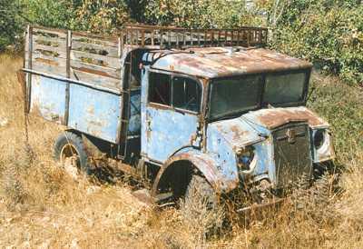 Le CMP C15A Water tank Lorry de chez Miror models. Hamilton New Zealand Wreck_10