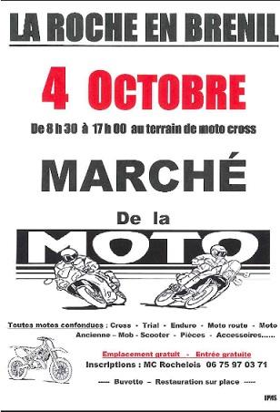 Marché de la moto à La Roche en Brenil [21] La_roc10