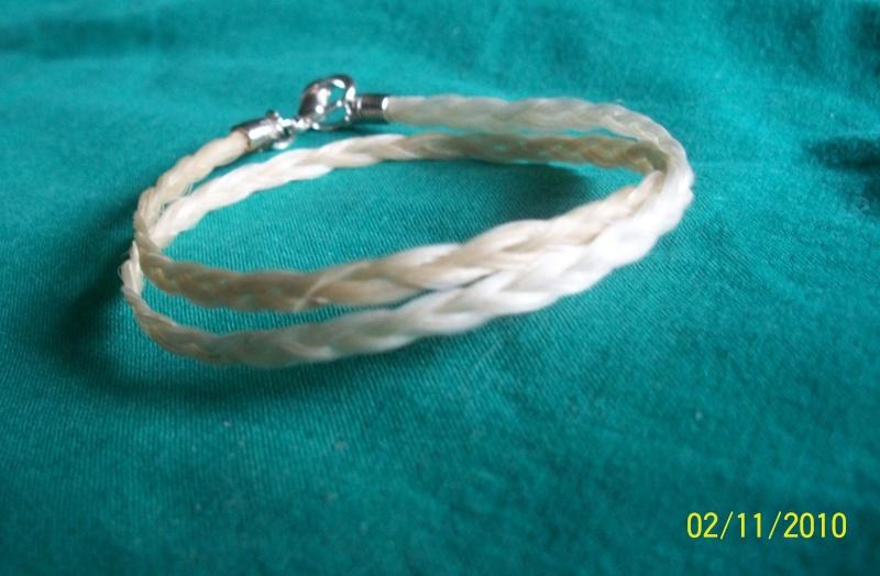 bracelet avec le crin de votre cheval 100_3911