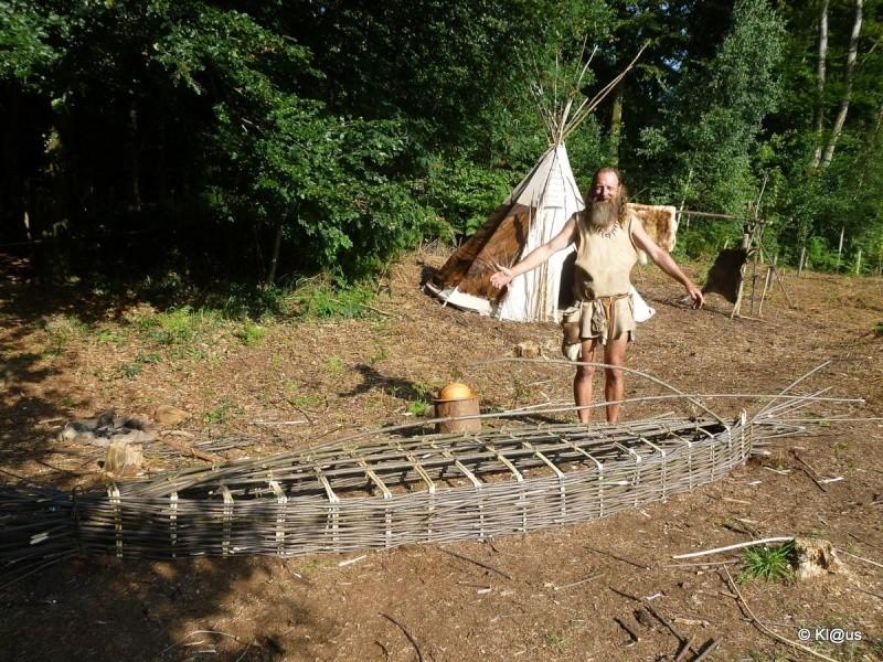 Expérience au musée de préhistoire d'Albersdorf Bateau11
