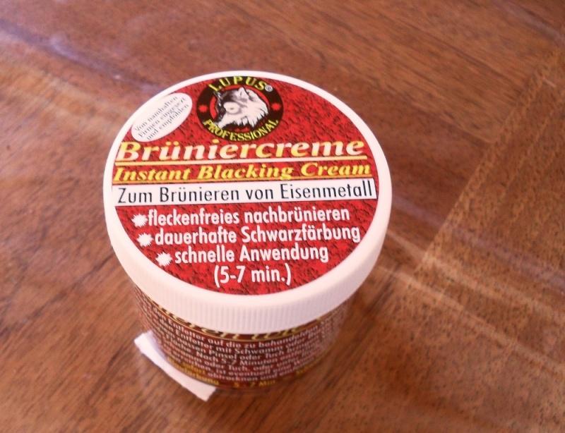 Pâte à bronzer Bruniercreme Sdc13610