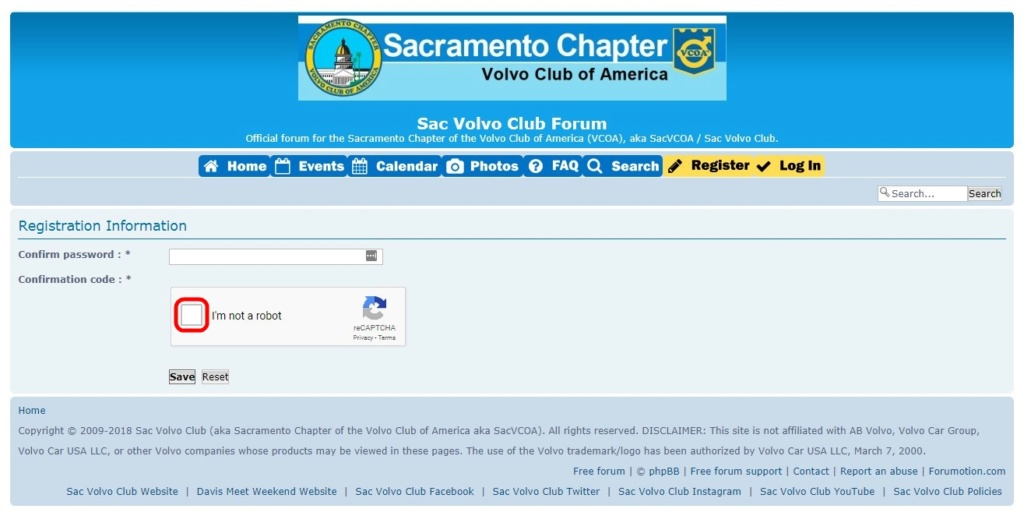 Topics tagged under recaptcha on Sac Volvo Club Forum Svcfor10