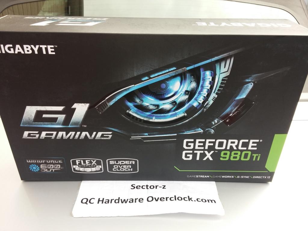 Gigabyte GTX 980 Ti G1 Gaming 20150910