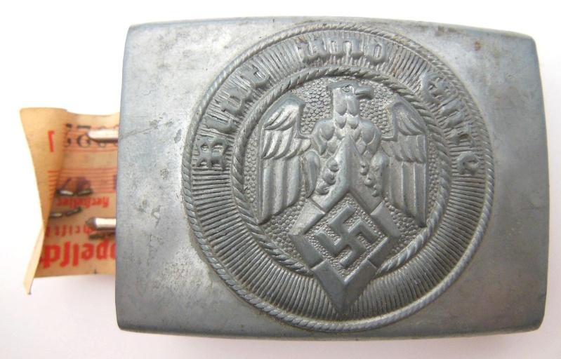 Boucle HJ (zinc) avec étiquette RZM - RZM M4/22 - CTD  Dscn5910