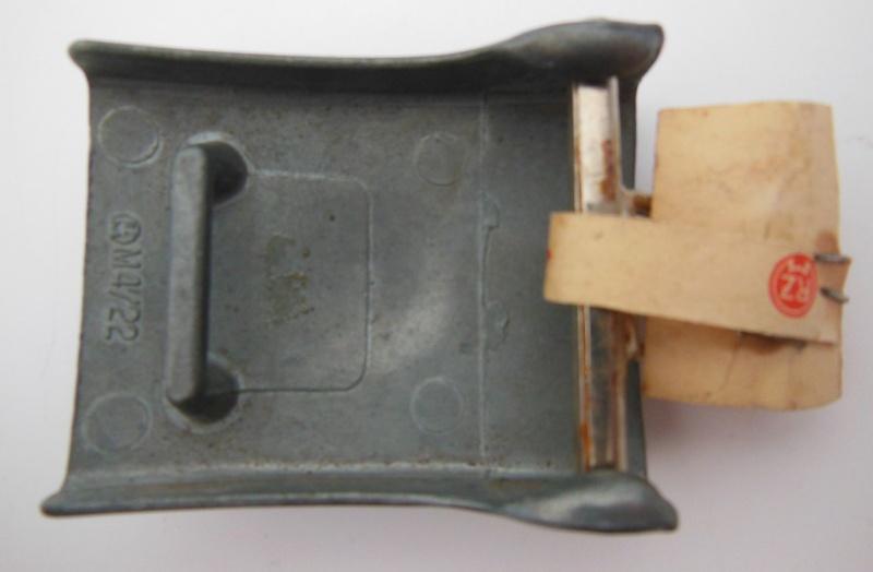 Boucle HJ (zinc) avec étiquette RZM - RZM M4/22 - CTD  Dscn5912