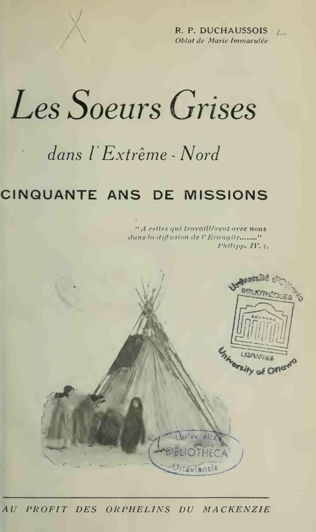 Les Soeurs Grises dans l'Extrême-Nord : Cinquante ans de Missions  Les_so10