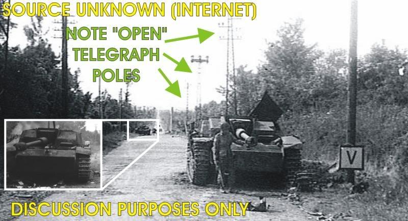 STUG - Diorama : Hé!!! Vient voire fréro! 1:35ième Panzer10