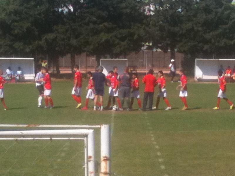 U15 honneur : Belle victoire 4-1 à nimes cheminots pour le dernier match de championnat Mai_2013