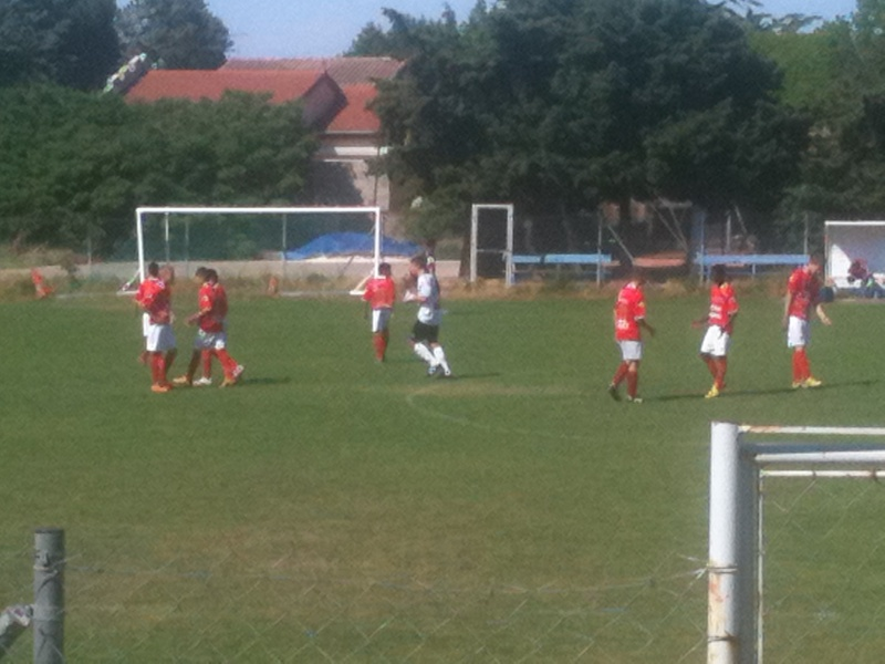U15 honneur : Belle victoire 4-1 à nimes cheminots pour le dernier match de championnat Mai_2014