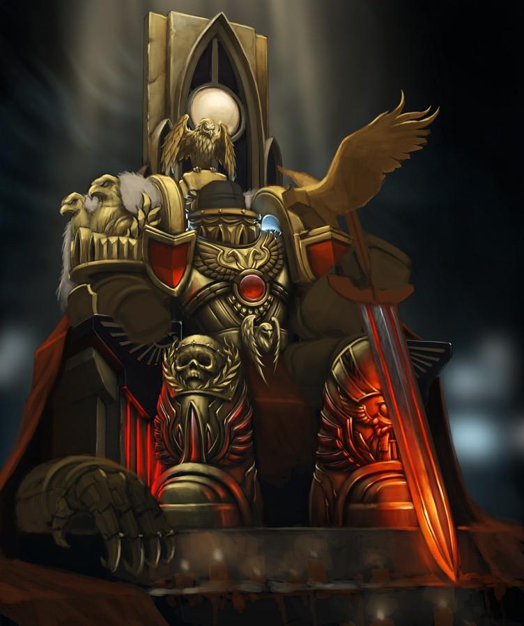 [W30K] L'Empereur de l'Humanité / The Emperor of Mankind - Page 3 240dee10