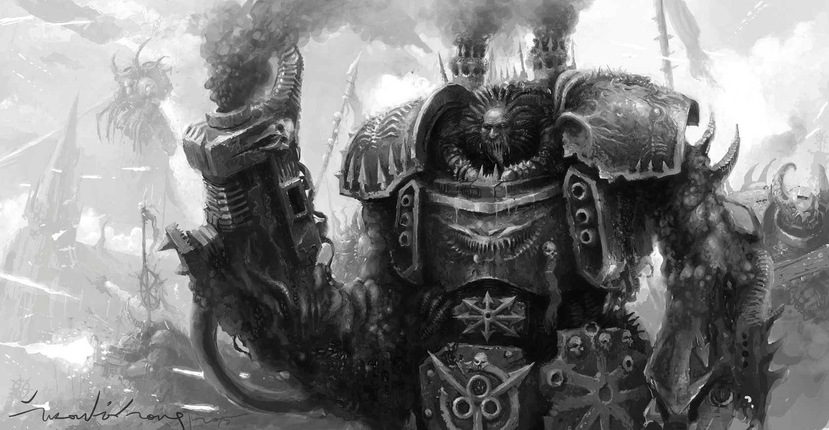 [W40K] Collection d'images : Space Marines du Chaos - Page 9 Chaos_10