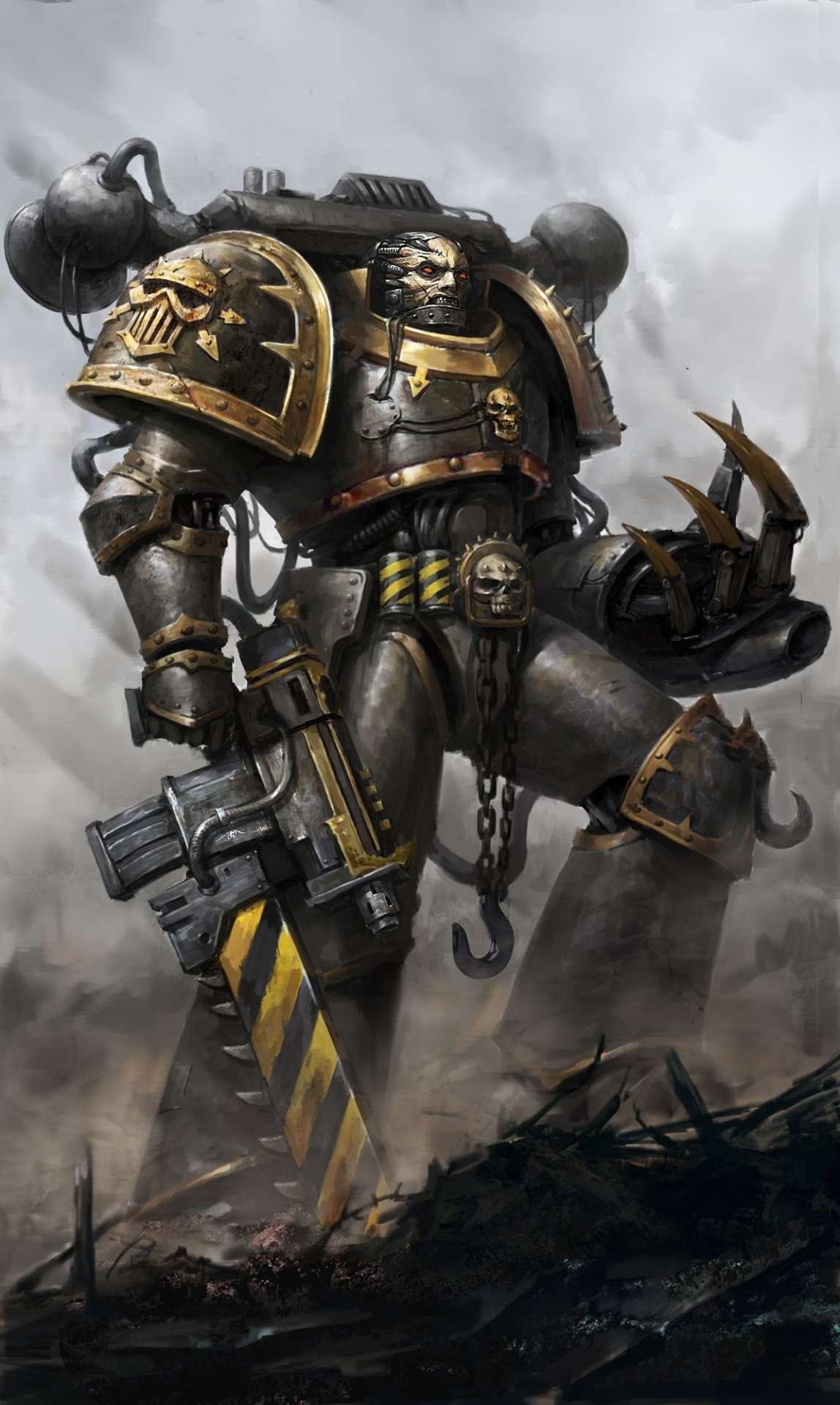 [W40K] Collection d'images : Space Marines du Chaos - Page 9 Tumblr10