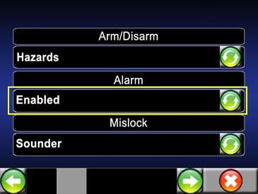 Retirer l'alarme d'origine Alarm10