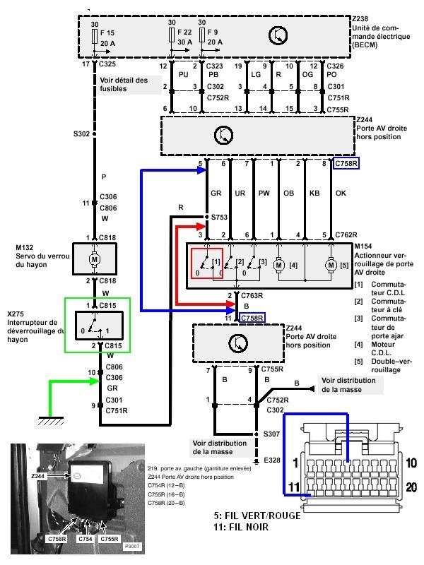 Ouverture coffre electrique HS Door_o10