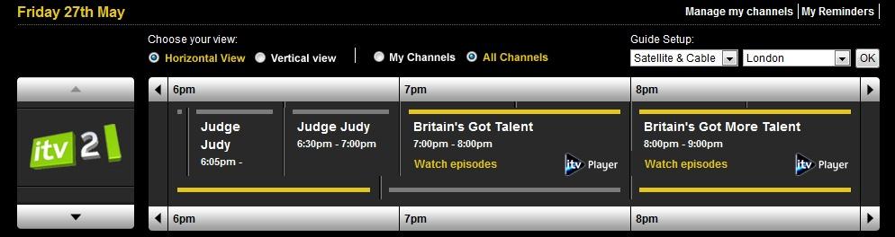 Britain's Got talent Friday11