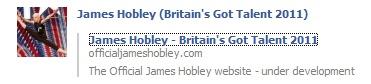 James Hobley - Britain's Got Talent 2011 audition  - Page 2 James_11