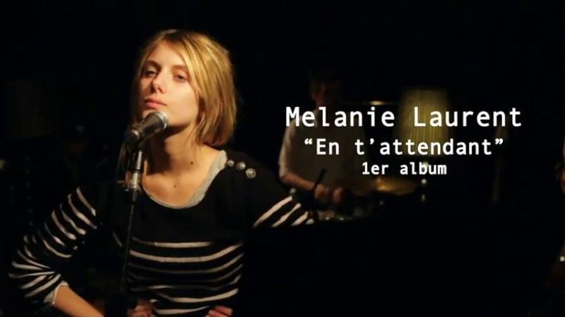 Mélanie Laurent - Les coulisses de l'album (En t'attendant !) Vlcsna44