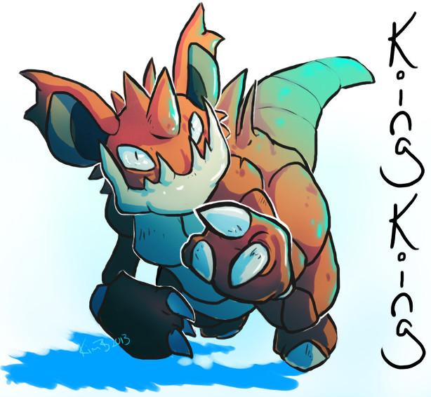 qu'es-ce que le fakemon? et pokéfusion Kingki10