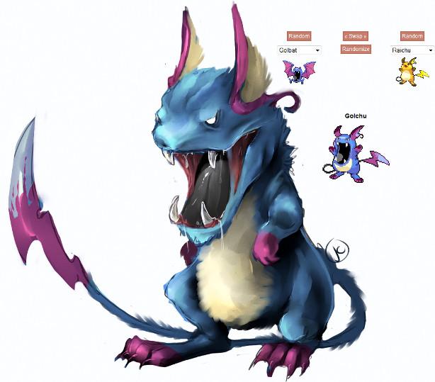 qu'es-ce que le fakemon? et pokéfusion Pokefu10