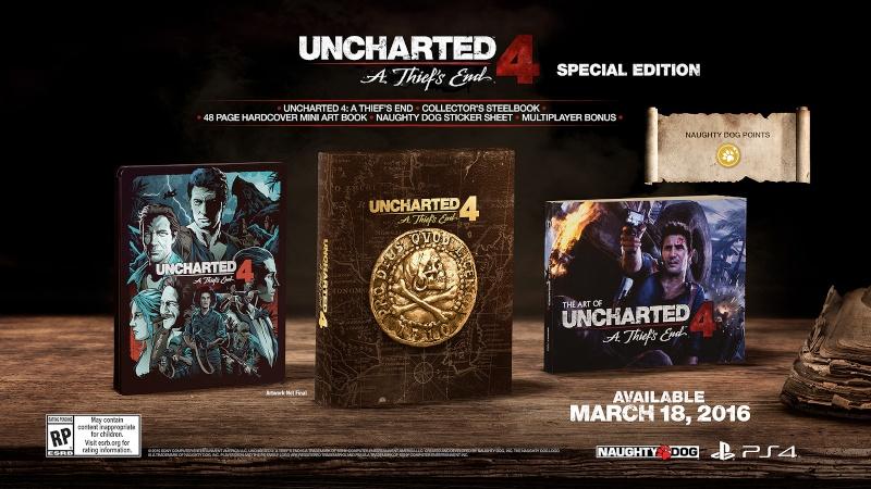 Uncharted 4 : la date de sortie dévoilée Unchar10