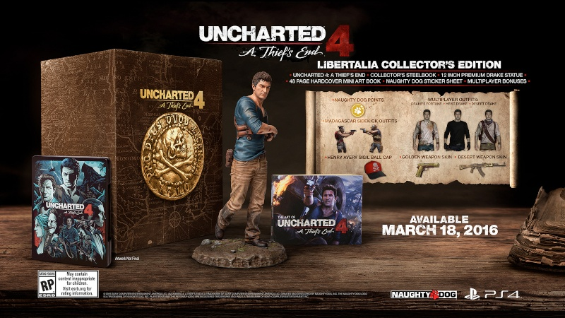 Uncharted 4 : la date de sortie dévoilée Unchar11
