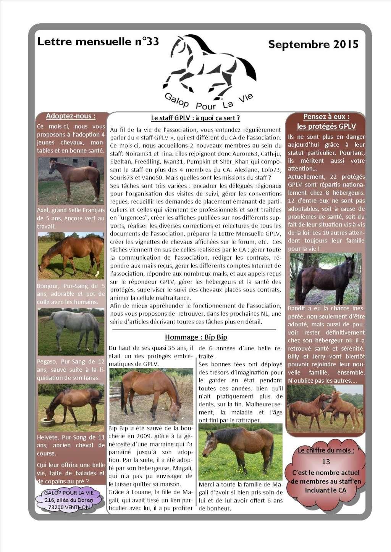 GPLV - Lettre Mensuelle n°33 - Septembre 2015 Nl_sep10