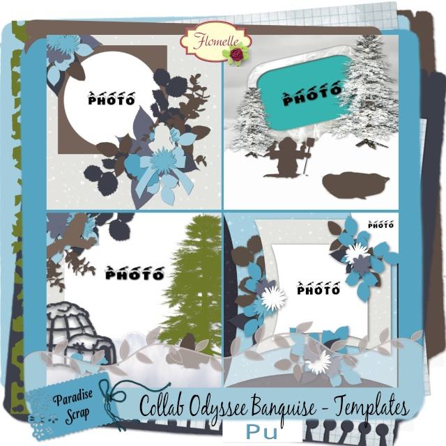 Odyssée Banquise - collab Bijou7 Design, Floralys, Malo et moi - pour le 1er décembre 2015 Collab11
