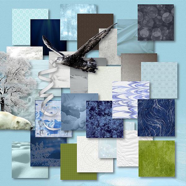 Odyssée Banquise - collab Bijou7 Design, Floralys, Malo et moi - pour le 1er décembre 2015 Collab19