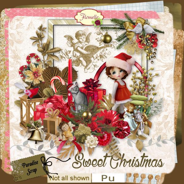 Sweet Christmas  - pour le 1er décembre Flomel83