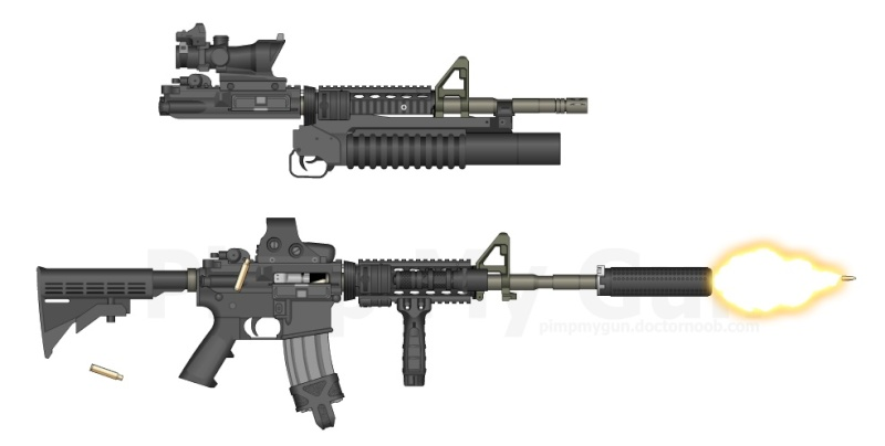 Airsoft Lovers M4_art10
