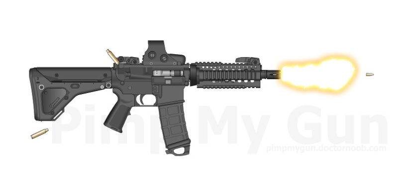 Airsoft Lovers M4_art12