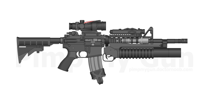 Airsoft Lovers M4_art15