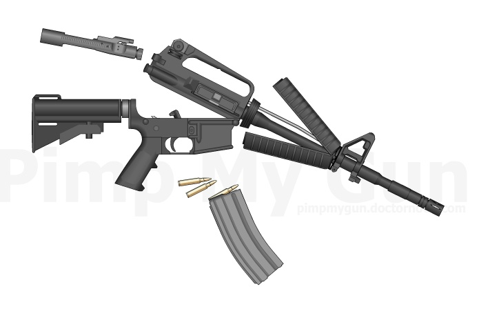 Airsoft Lovers M4_dis10
