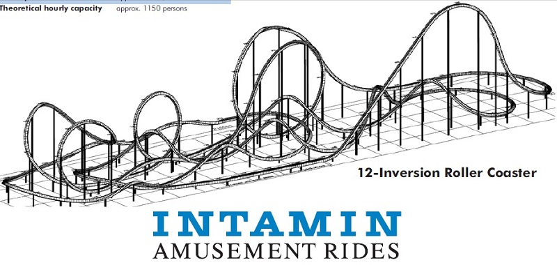 Parc d'attraction & Rollercoaster Intami11