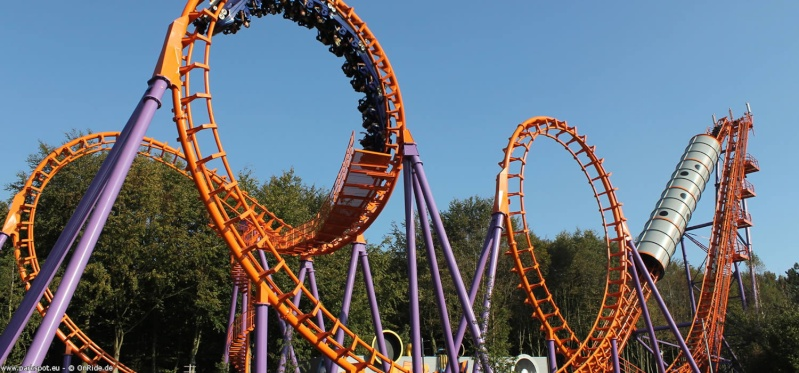 Parc d'attraction & Rollercoaster Walibi10