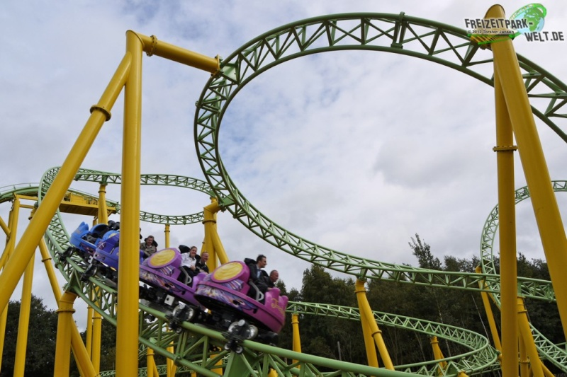 Parc d'attraction & Rollercoaster Wervel10