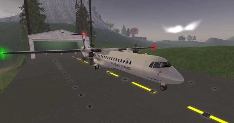 ATR 72 Regional Airliner Atr_7211