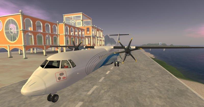 ATR 72 Regional Airliner Atr_7215