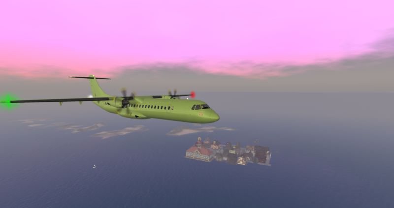 ATR 72 Regional Airliner New_at10