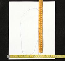 Come determinare la misura delle scarpe Measur10