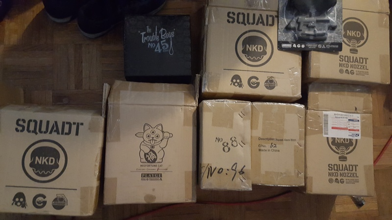 SELLING COLLECTION--- SQUADTS, RARES, CUSTOMS, CANDYS...JUST L@@K THANK YOU 20150819